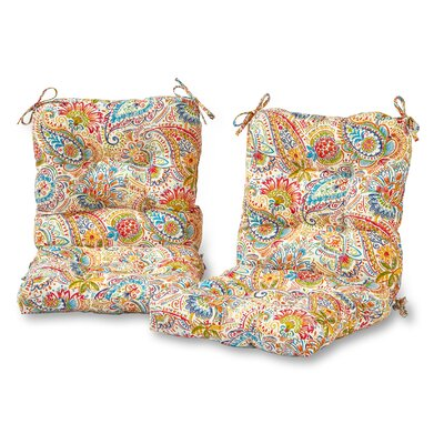 Outdoor Lounge Chair Cushion Fabric: Jamboree