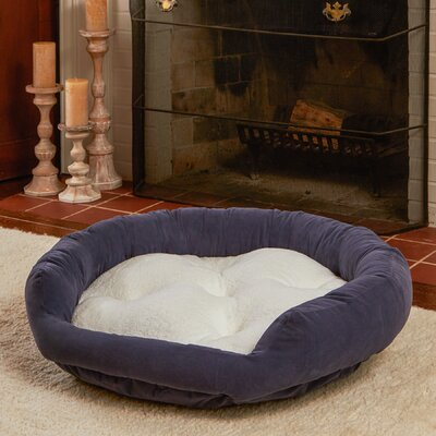 Murphy Donut Dog Bed Size: Large (42 L x 42 W), Color: Denim