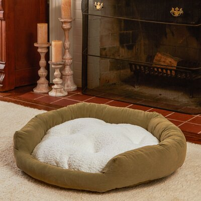 Murphy Donut Dog Bed Size: Medium (32 L x 32 W), Color: Moss