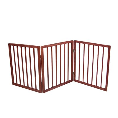 Glenna Freestanding Pet Gate