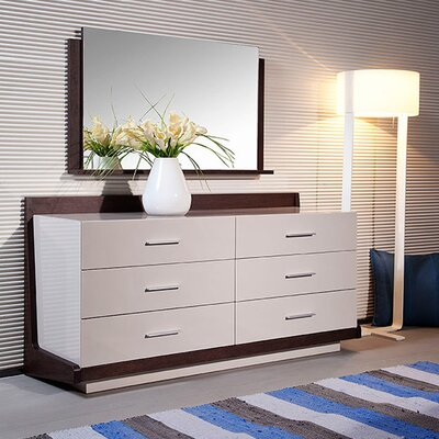 Modrest Volterra 6 Drawer Dresser