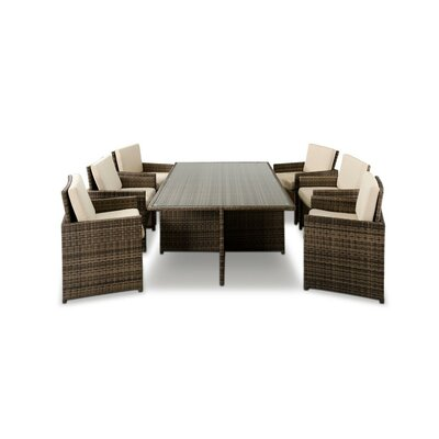 Renava Barcelona 13 Piece Dining Set