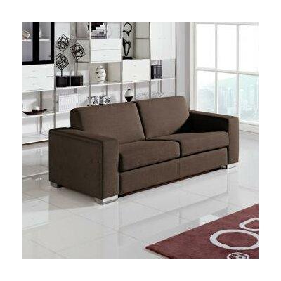 VIG Furniture VGMB1418-BRN Divani Casa Mineral Sleeper Sofa