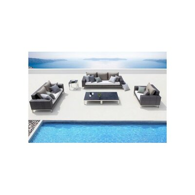 Renava Rock Modern Patio Lounge Seating Group picture