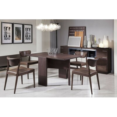 Camron  5 Piece Tempered Glass Top Dining Set