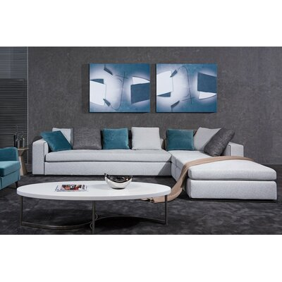 Coalpit Heath Wood Frame L-Shaped Sectional