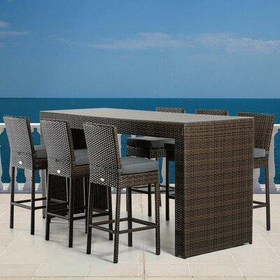 Renava 7 Piece Bar Set with Cushions
