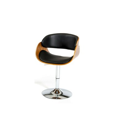 Attica Modern Adjustable Height Swivel Bar Stool