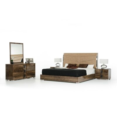 Armadale Platform Bedroom Set Size: King