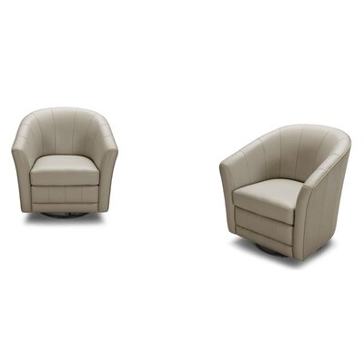 Divani Casa Greer Leather Modern Club Chair