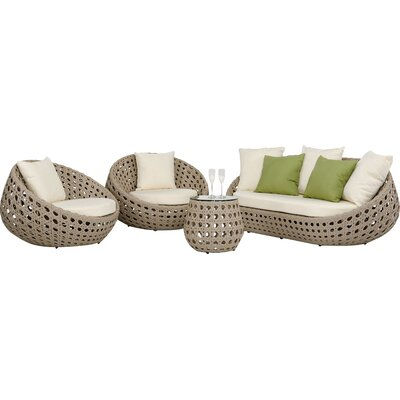 Agora Akoi 4 Piece Deep Seating Group