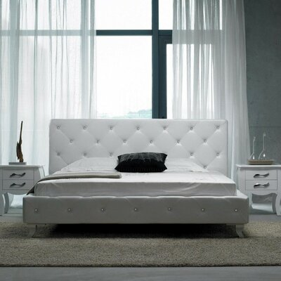 Kampenhout Upholstered Platform Bed Size: King