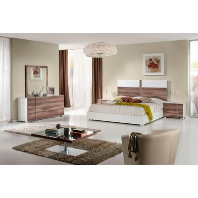 Cobbey Modern Platform 5 Piece Bedroom Set Size: Queen