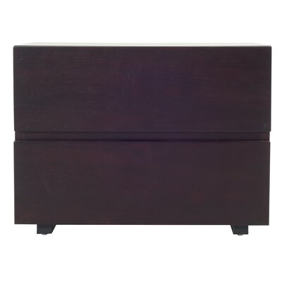 Carnevale 2 Drawer Nightstand