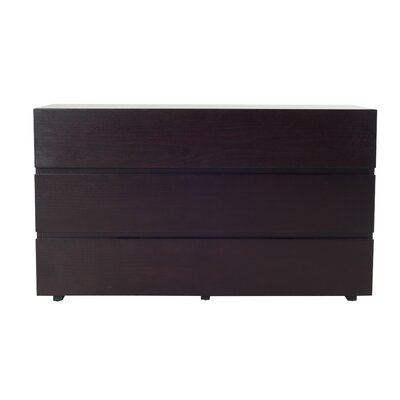 Modrest Logan 3 Drawer Dresser