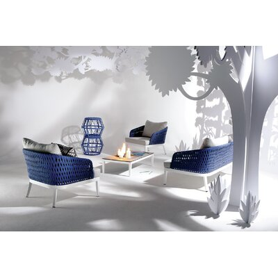 Renava Buenos 5 Piece Lounge Seating Group with Cushion