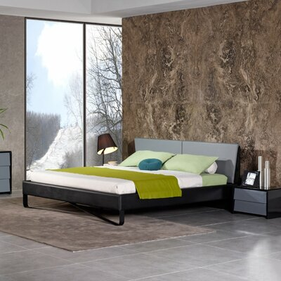 Cheng Upholstered Platform Bed