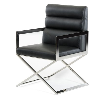Clower Modern Upholstered Arm Chair