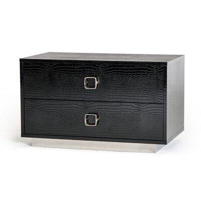 Swanson 2 Drawer Nightstand