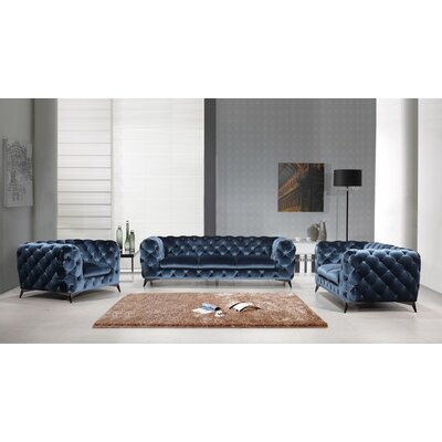 Azu 3 Piece Living Room Set