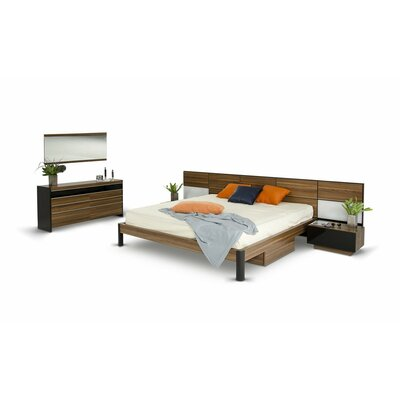 Cooke Platform 3 Piece Bedroom Set Size: Queen