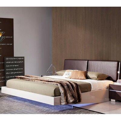 Canas Upholseterd Platform Bed Size: Eastern King
