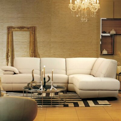 Coalpit Heath Upholstered Right Facing Leather Sectional