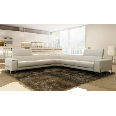 Coalpit Heath Modern Leather Sectional