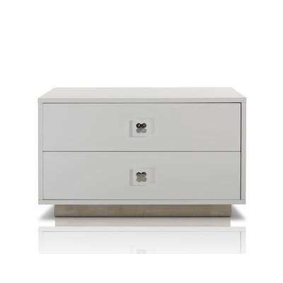 Dimartino 2 Drawer Nightstand