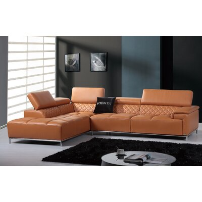 Coalpit Heath Upholstered L-Shaped Sectional