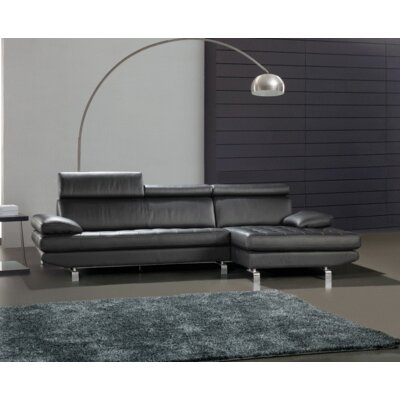 Coalpit Heath Tufted Leather Sectional