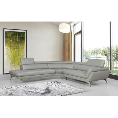 Chico Leather Sectional