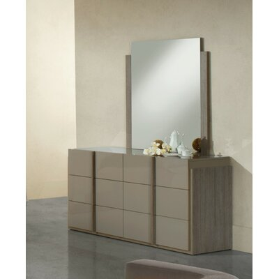 Shaleine 6 Drawer Dresser with Mirror