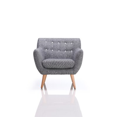 Taveras Armchair Upholstery: Gray