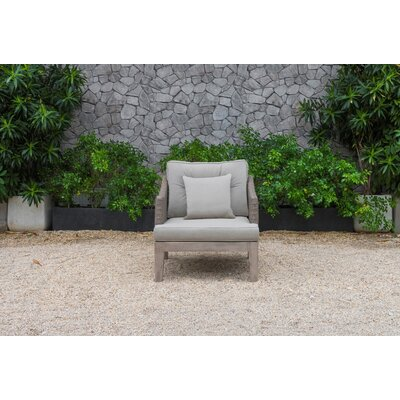 Anne Outdoor 4 Piece Sofa Seating Group with Cushions