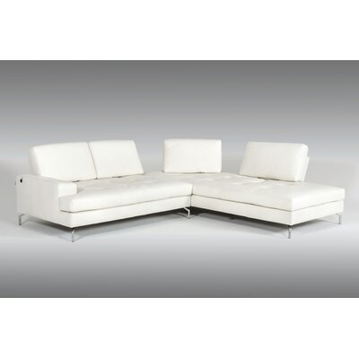 Doris Leather Sectional