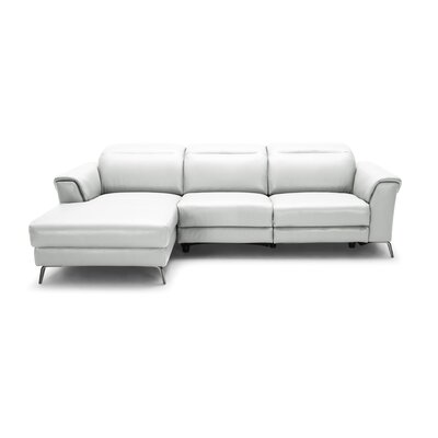 Dorothy Leather Reclining Sectional