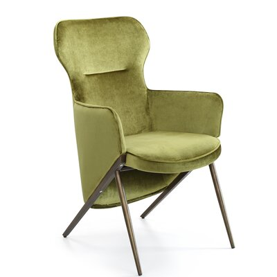 Epping Armchair Upholstery: Green