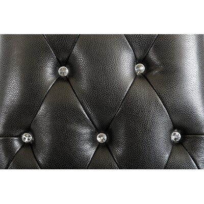 Stefania Italian Leather Tall Armchair