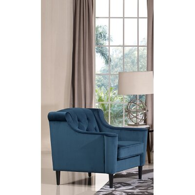 Crewkerne Velour Armchair