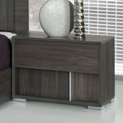 Chidley 2 Drawer Nightstand Orientation: Right Facing