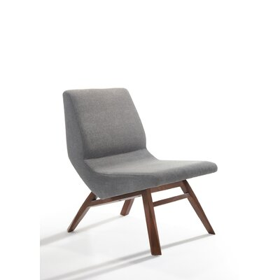 Urbanek Slipper Chair and Ottoman