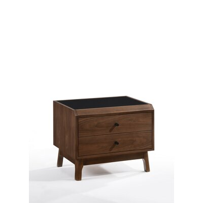 Jaelyn 2 Drawer Nightstand