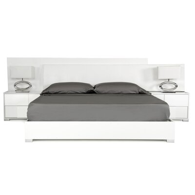 Parman Italian Queen Platform�3 Piece Bedroom Set