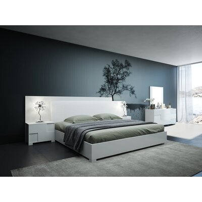 Italian Queen Platform Bedroom Set Parman Product Picture 667. Order here.