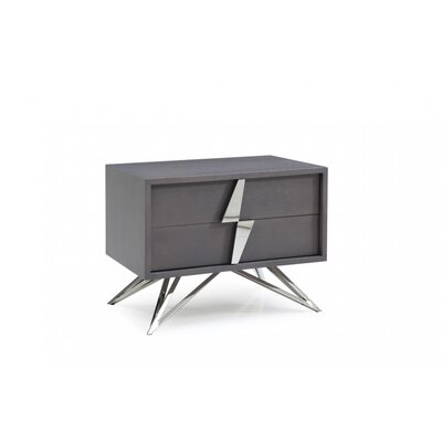 Parnell 2 Drawer Nightstand