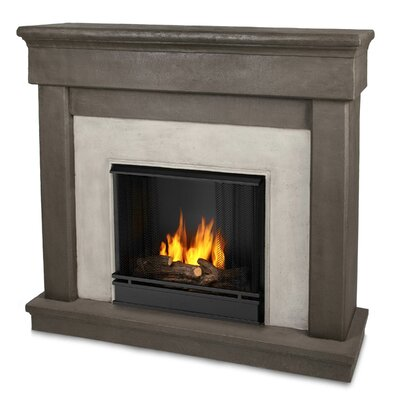 Cascade Cast Mantel Gel Fuel Fireplace