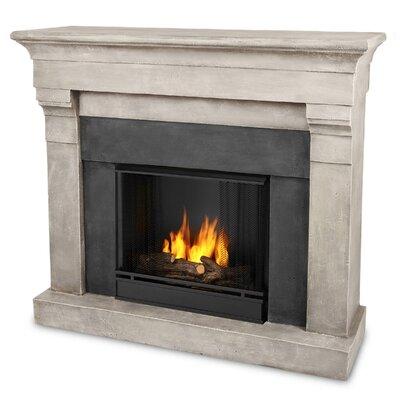 Torrence Cast Mantel Gel Fuel Fireplace