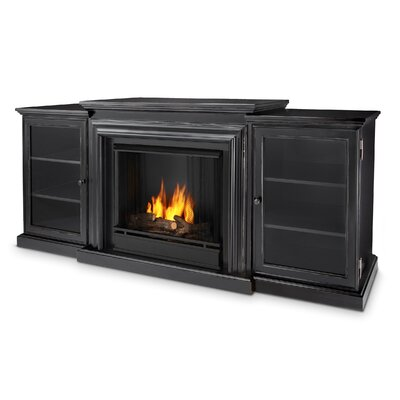 Real Flame 7740 Bw Frederick Entertainment Center Gel Fuel Fireplace Color Blackwash Reviews