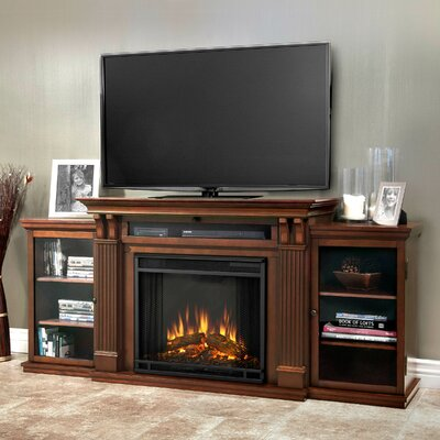 Cali 67 TV Stand with Fireplace Finish: Dark Espresso